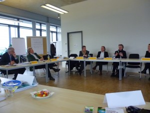 Discussion at the PRME DACH Chapter Meeting
