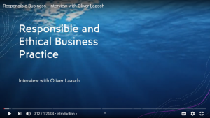 Responsible Management Oliver Laasch